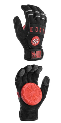 "Blood Orange ""Knuckles"" Slide Gloves (black) pirštinės"