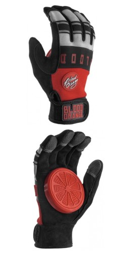 "Blood Orange ""Knuckles"" Slide Gloves (grey) pirštinės"