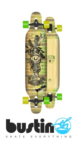 Bustin Reflex Series Machete 39 All Knowing longboard komplektas