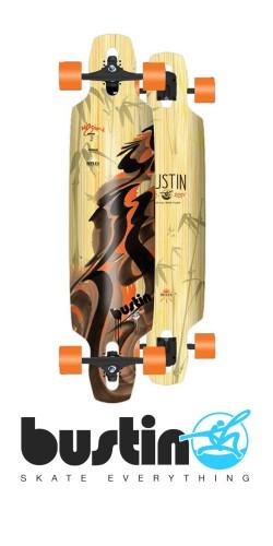 Bustin Reflex Series Mission 36 Dynasty longboard komplektas