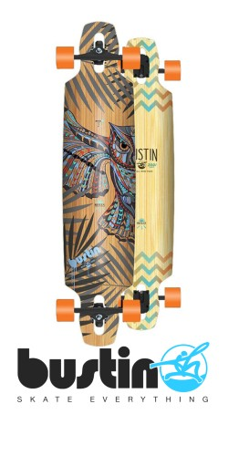 Bustin Reflex Series Mission 40 Fly By Night longboard komplektas