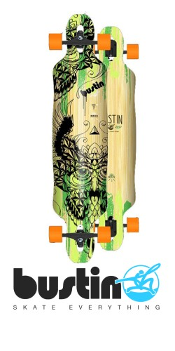 Bustin Reflex Series Summit 42 Chief longboard komplektas