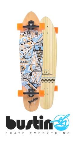 "Bustin SK 40"" Native Way longboard komplektas"