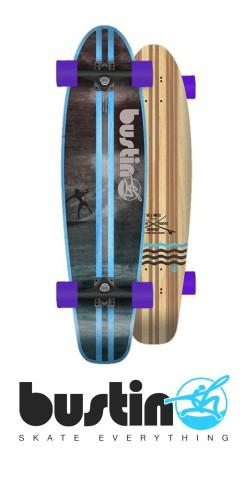 Bustin Surf cruiser 32 longboard komplektas