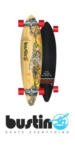 Bustin Surf Pintail 36 longboard komplektas