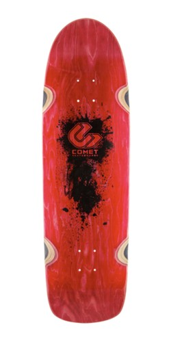 Comet Shred 33 orange longboard lenta