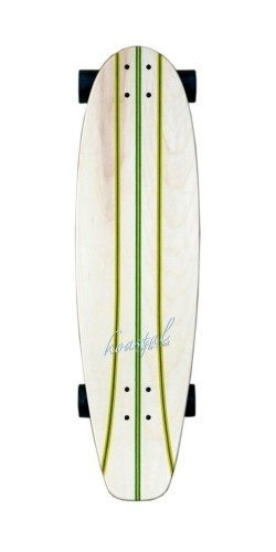 Koastal Pickle longboard komplektas