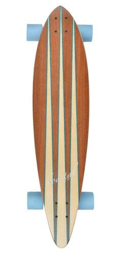 Koastal Pin Tail longboard komplektas
