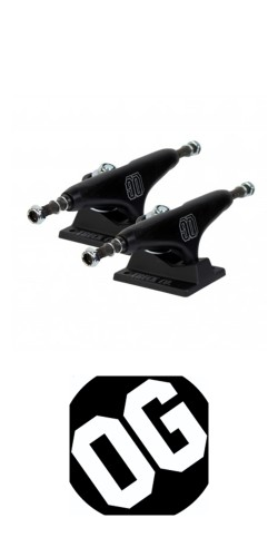 OG Trucks 139mm black ašys