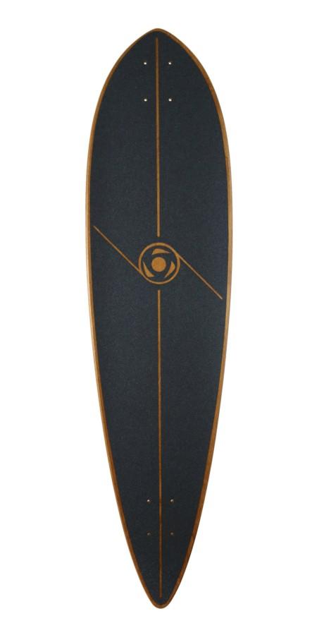 "Omen 40.5"" Champion Pintail longboard komplektas"