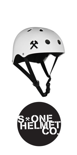 S-One Premium Helmet White šalmas