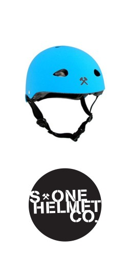 S-One The Kid Helmet Cyan Matte šalmas