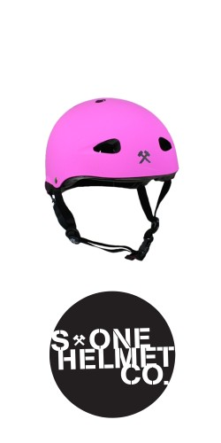 S-One The Kid Helmet Hot Pink šalmas