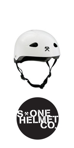 S-One The Kid Helmet White šalmas